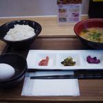 おむすびのGABA - 卵がけご飯セット~☆