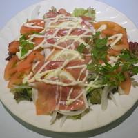 野の花 - 生ハムサラダ
