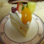デセール - きまぐれフルーツショートケーキ