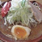 麺匠 双葉 - 特撰赤味噌ネギ 900円