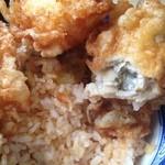 元禄鮨 - 牡蠣天