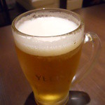 ロンフーダイニング - 生ビール
