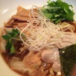 九月堂 - しそワンタン麺