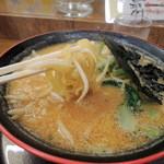 いなせ - 味噌ラーメン 麺あげ
