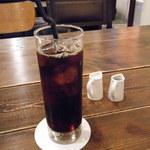 燕食堂 - 有機コーヒー(アイス)