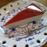 ファーマーズカフェ大芦家 - レアチーズケーキ(2013.06.07)