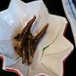 林屋 - 「天ぷらうどん定食」(1,380円)の小鉢