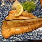 とんかつ 安右衛門 - 鮭かまの味噌漬け