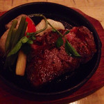酉文 - 近江牛のステーキ