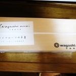 ワガシアソビ - ドライフルーツの羊羹