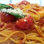 29089928 - トマトとモッツァレラのパスタ