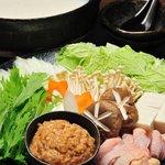 焼鳥とり萬 - 自家製 白湯とり鍋