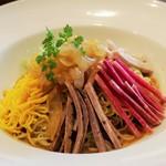 上海ヌードル 珊 - 料理写真:特選クラゲの冷やし麺