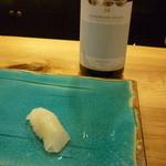 いわ志 - 白ボトルとお寿司14.7