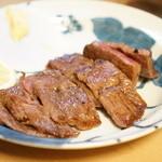 やっちゃん - ミスジのステーキ