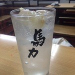 馬力 - 生レモンサワー 390円