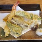 信州名物 本手打ちそば 更科 - 縄文天ぷらセットの天ぷら