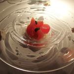 29096105 - 高知県産てっぺんトマトとリコッタチーズの冷製カッペリーニ