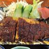 水谷 - 料理写真:付け合せのお野菜がキレイに盛り付けされてました。