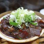 餃子屋麺壱番館 - 蒸し牛スジ☆