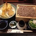 今日亭 都島店 - お昼の日替わり丼定食(790円+税)+そば2段(+150円+税)