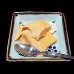 おさかな食房わはな座 - デザート(プリン)