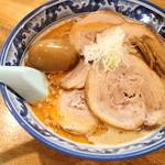 麺や樽座 - 海老風味味噌ラーメン