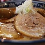 麺や樽座 - +チャーシュー+煮玉子