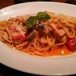 ITALIAN GOGO - 鶏と夏野菜のパスタ