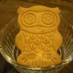 フクロウコーヒー - ふくろうのクッキー
