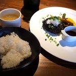 Nitro - 自家製ハンバーグ夏はさっぱりおろしポン酢だ!!800円