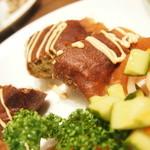 29102849 - 『ひき肉たっぷりの揚げオムレツ』1000円