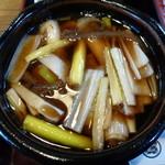 そば処砂場 - 鴨せいろ(1,350円)~鴨汁