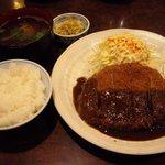レストラン 酔牛亭 - ロース豚カツ 950円 + ご飯セット 400円