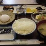 マルセ - 料理写真:朝食(ご飯お代り自由)