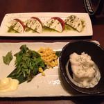 京庵 - ポテトサラダ頼んで出て来たのがマッシュポテト