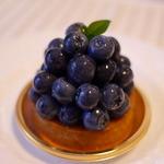 ラトリエ - 料理写真:ブルーベリータルト
