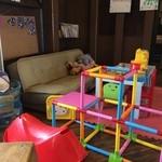 オレンジ カウンティ Cafe - キッズスペースもありました!