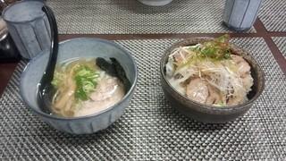 匠海 - チャーシュー丼セット\750