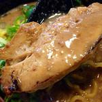 バカヤロー 龍麺房 - 柔らかくトロけるチャーシューも旨し!