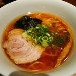 支那そばや 新横浜ラーメン博物館店 - ミニ醤油らぁ麺¥570