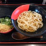伊予製麺 - かけうどん・並(税込み260円)