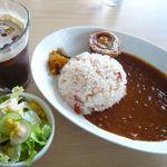 のんのスタジアム - 料理写真:北本トマトカレーセット(¥700)