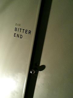 Bar BITTER END