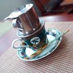 優しい ライオン - ドリンク写真:ベトナムコーヒー
