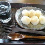 Lien - 白玉きなこ&黒ごまソース