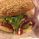 サブスタンス カフェスタイル - 料理写真:アボカドチーズバーガー