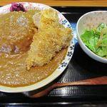 山田屋食堂 - チキンカツカレー 850円