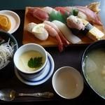 29122821 - 寿司ランチ 茶碗蒸し付き