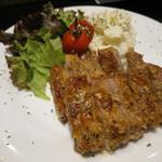 GINZA我歩 - 豚肉のソテー